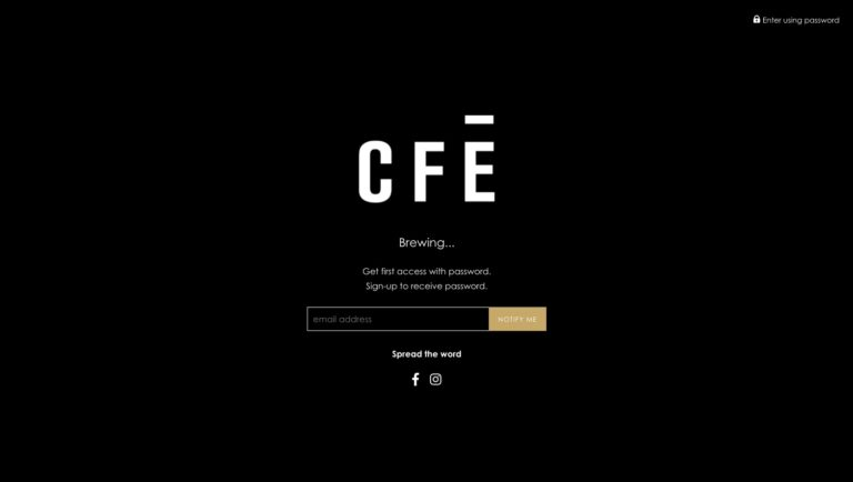 cfe shop locked