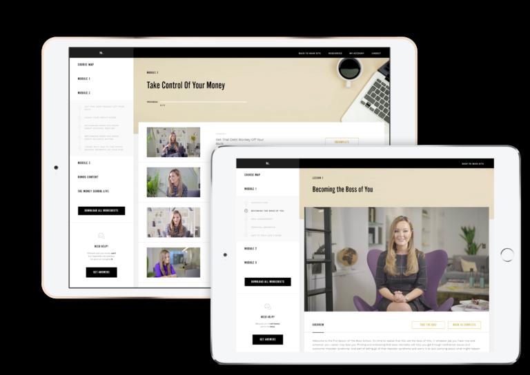 influencer online course platform