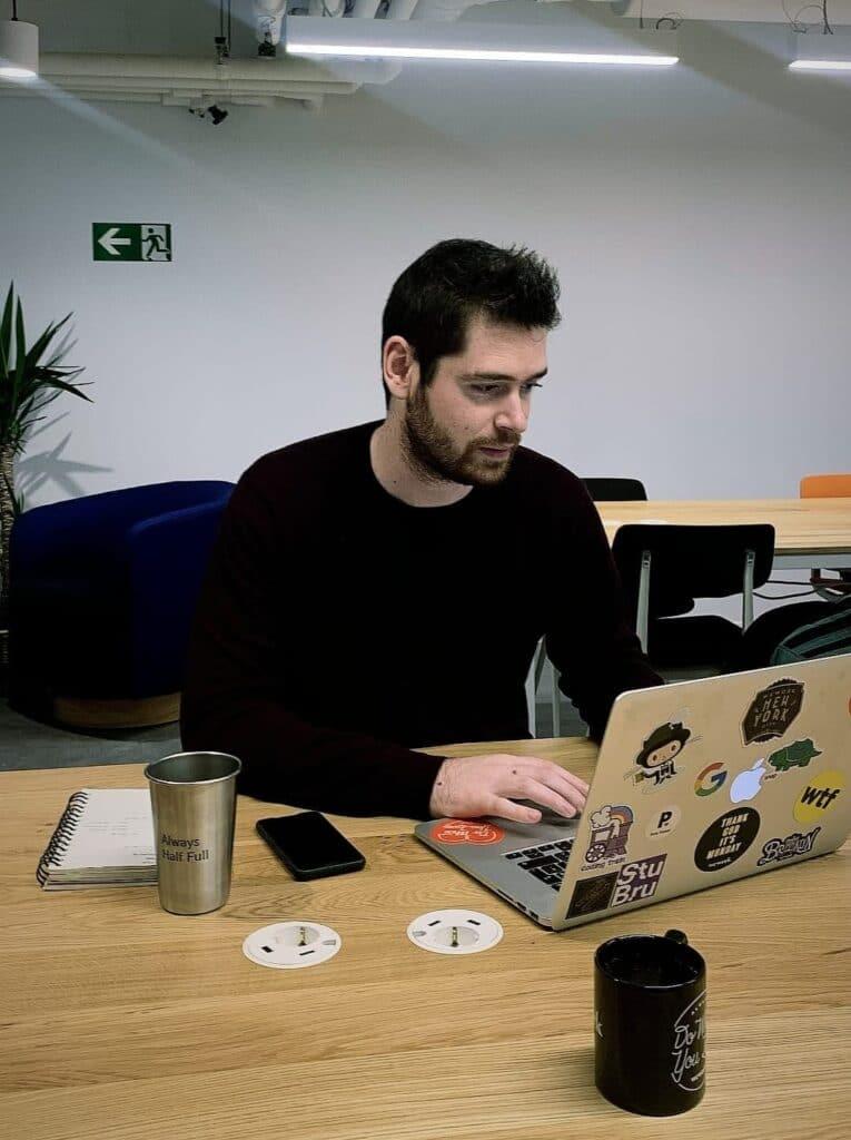 bob weichler coding at weichie in brussels
