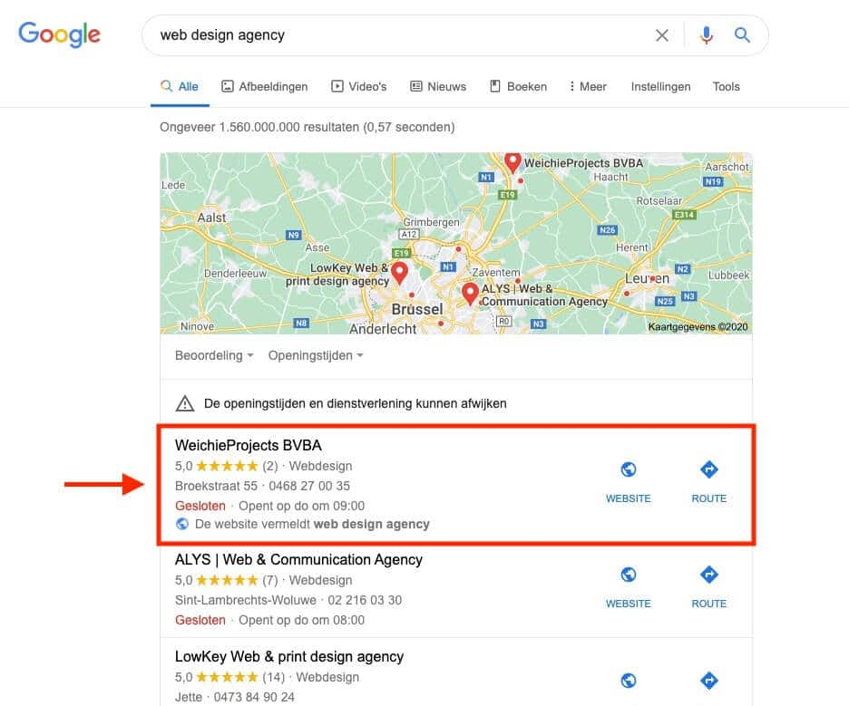 off page seo tool google maps