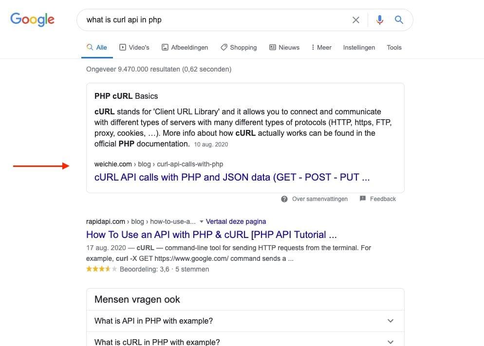 google position zéro